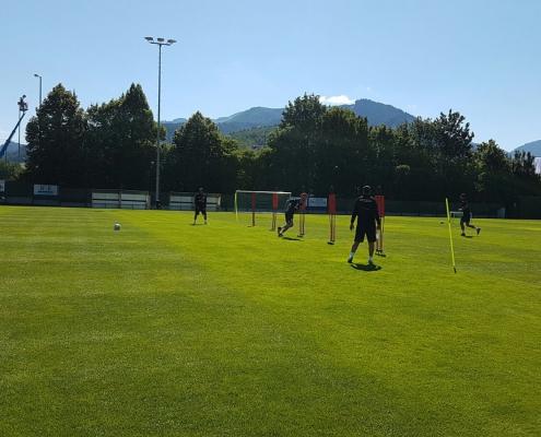 דיווחים ממחנה האימונים באוסטריה