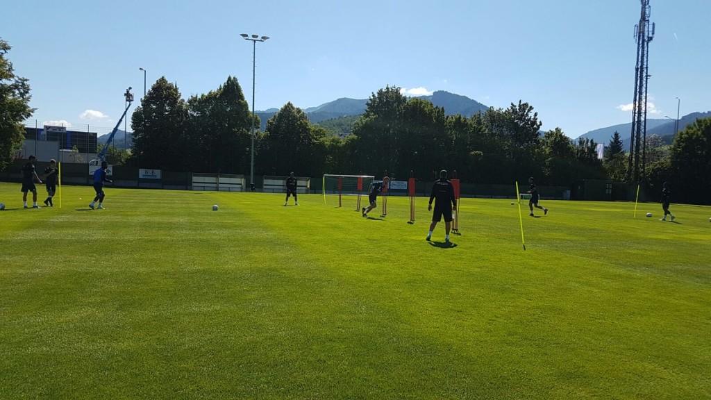מחנה האימונים באוסטריה